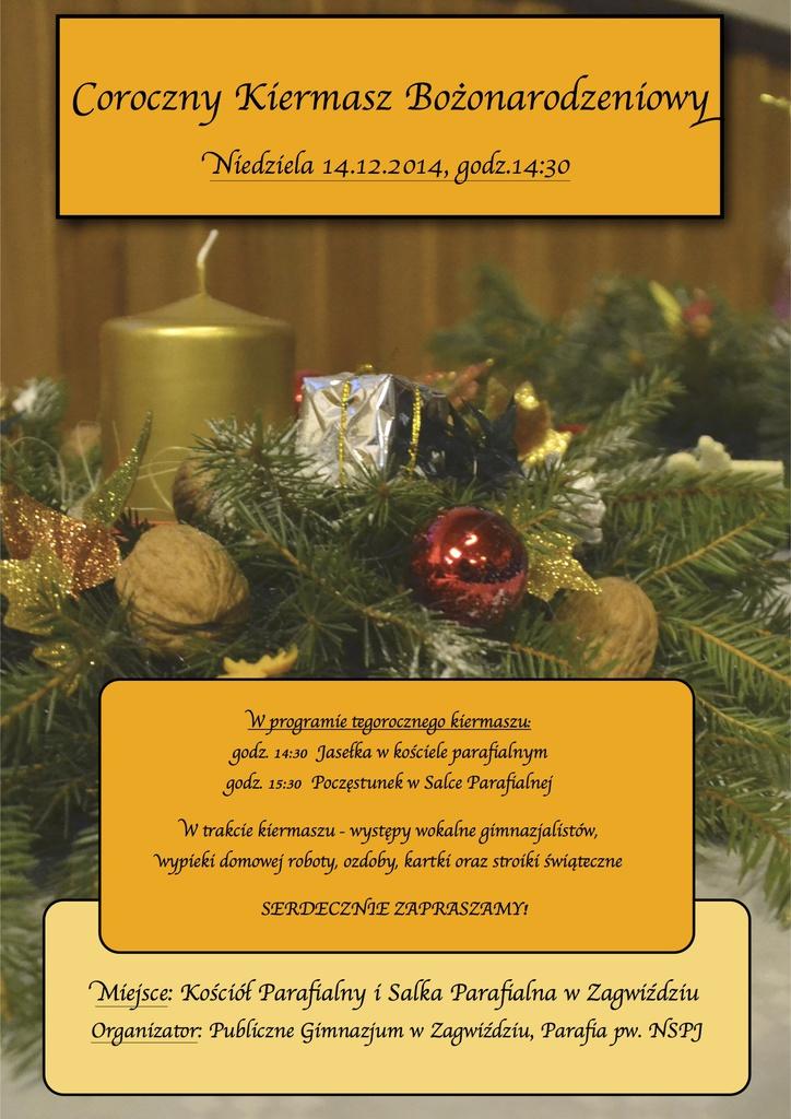 Publiczne Gimnazjum w Zagwiździu_Coroczny Kiermasz Bożonarodzeniowy.jpeg